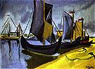Vor Dem Gewitter 1910 - Max Pechstein