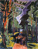 Waldweg 1919 - Max Pechstein