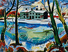 Melting Snow 1922 - Max Pechstein