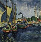 Hafen 1911 - Max Pechstein