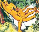 Hangmatte I 1919 - Max Pechstein