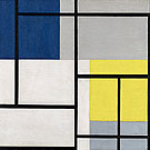 Simultaneous Composition XXIV 1929 - Theo van Doesburg