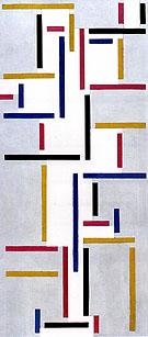 Rhythmus Eines Russischen Tanzes - Theo van Doesburg