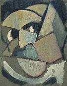 Abstract Portrait c1915 - Theo van Doesburg