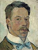 Self Portrait 1913 - Theo van Doesburg