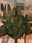 Tree 1916 - Theo van Doesburg
