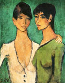 Two Sister - Otto Mueller