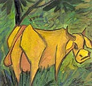 Yellow Cow - Otto Mueller