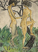 Two Nudes in the Open Air 1920 - Otto Mueller
