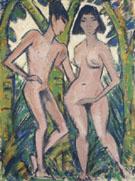 Adam and Eve c1920 - Otto Mueller