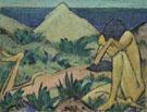 Nude in Dunes c1919 - Otto Mueller