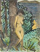 Einer Weiteren Badenden 1928 - Otto Mueller