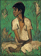 Gypsy c1926 - Otto Mueller