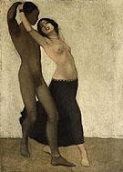 Negro with a Dancer c1903 - Otto Mueller