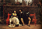 Faust and Marguerite in The Garden 1861 - James Tissot