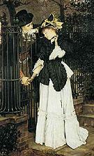 The Farewell 1871 - James Tissot