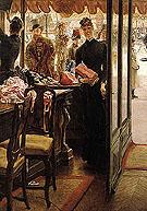 The Shop Girl - James Tissot