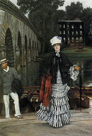 The Return from The Boating Trip - James Tissot