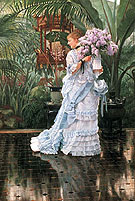 The Bunch of Lilacs - James Tissot