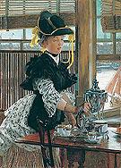 Tea 1872 - James Tissot