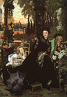A Widow 1868 - James Tissot