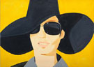 The Black Hat - Alex Katz