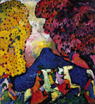 Blue Mountain c1908 - Wassily Kandinsky