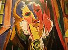 Bildnis Dr Rosa Schapire 1919 - Karl Schmidt Rottluff