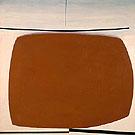 Yellow Anstract c1960 - Victor Pasmore