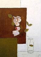 Roses in a Jar 1947 - Victor Pasmore