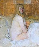 Nude 1941 - Victor Pasmore