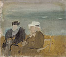 Seated Couple 1933 - Victor Pasmore