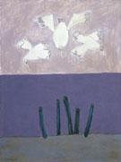 Birds Over Sky 1957 - Milton Avery