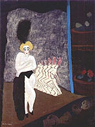Burlesque 1936 - Milton Avery