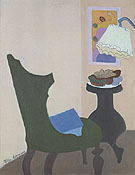 Green Chair 1944 - Milton Avery