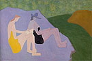 Sketchers by the Stream 1951 - Milton Avery