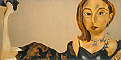 Portrait of Shelley Aarons 2005 - Francesco Clemente