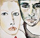 Sante and Kara - Francesco Clemente