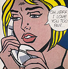 Oh Jeff - Roy Lichtenstein
