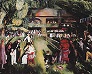 Tennis at Newport 1920 - George Bellows