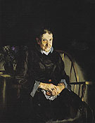 Aunt Fanny Old Lady in Black 1920 - George Bellows