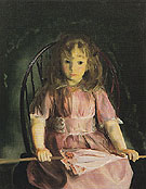 Jean in a Pink Dress 1921 - George Bellows