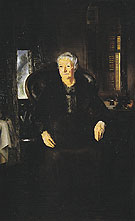 Portrait of My Mother No 1 1921 - George Bellows