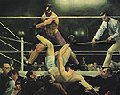 Dempsey and Firpo 1924 - George Bellows