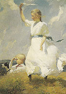 The Hilltop 1903 - Frank Weston Benson