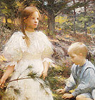 Children in The Woods 1898 - Frank Weston Benson