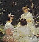 Children in The Woods 1905 - Frank Weston Benson