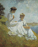 Elisabeth and Anna c1909 - Frank Weston Benson