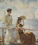 Summer Day c1911 - Frank Weston Benson