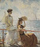 Summer Day c1911 - Frank Weston Benson